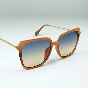 Nanette Lepore Oversized Square Sunglasses